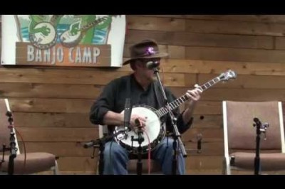 Gerald Jones plays a Banjo Medley at Suwannee Banjo Camp 2014